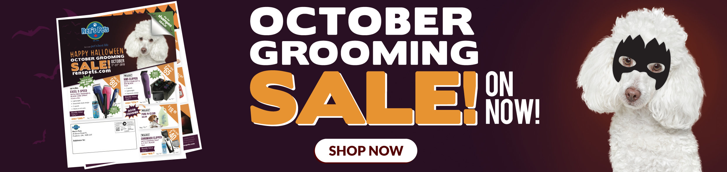 October Grooming Sale