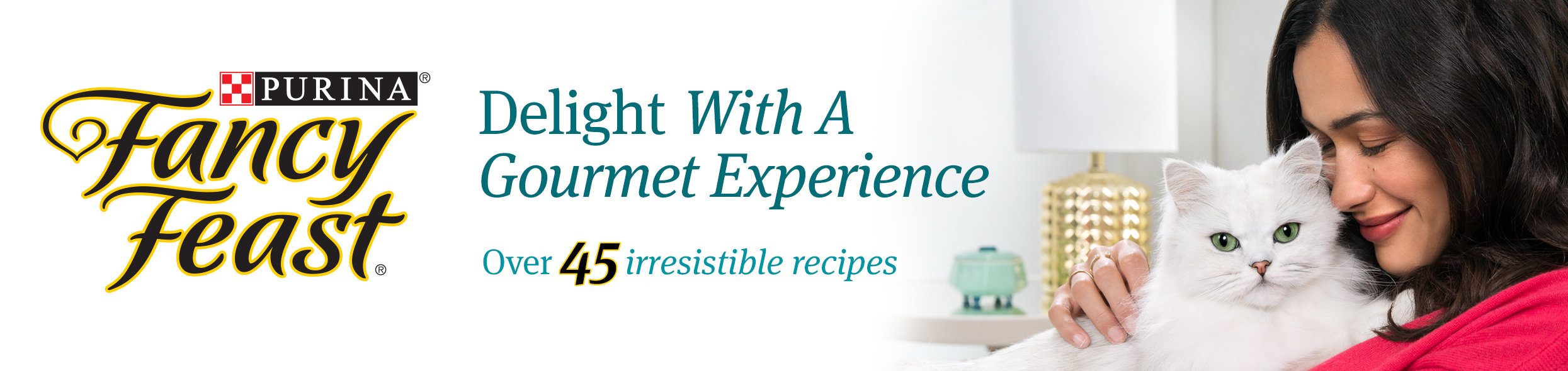 Purina Fancy Feast Delight With A Gourmet Experience Over 45 irresistible recipes