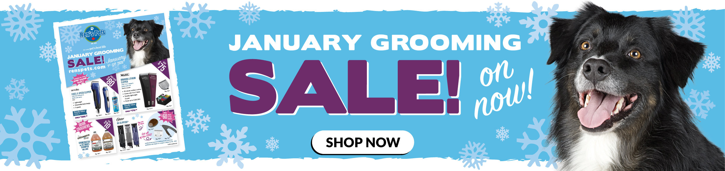 January Grooming Sale
