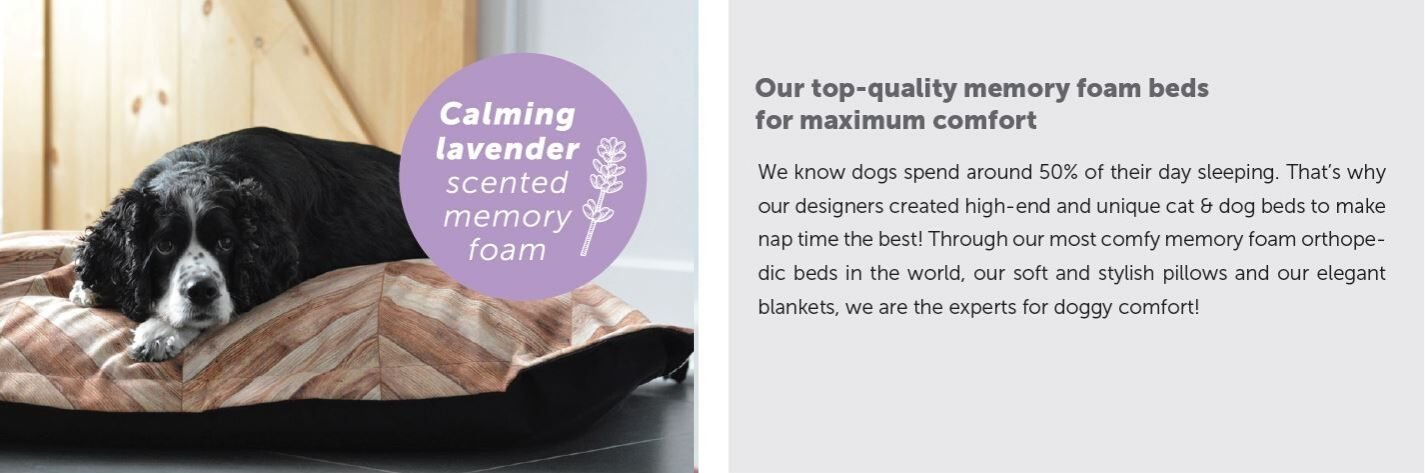 Pet Memory Foam Beds
