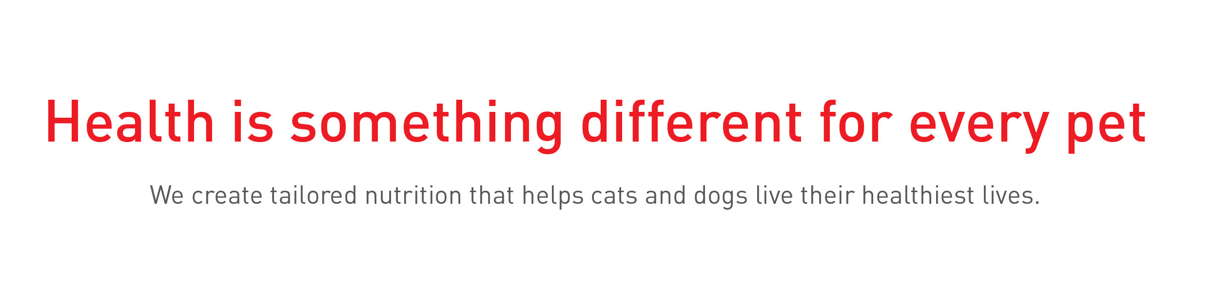 Royal Canin Taylored Nutrition