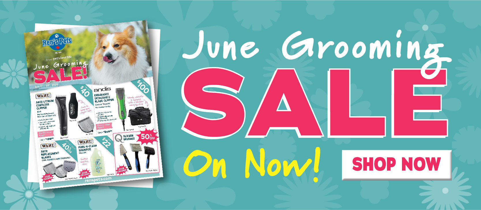 June Grooming Sale