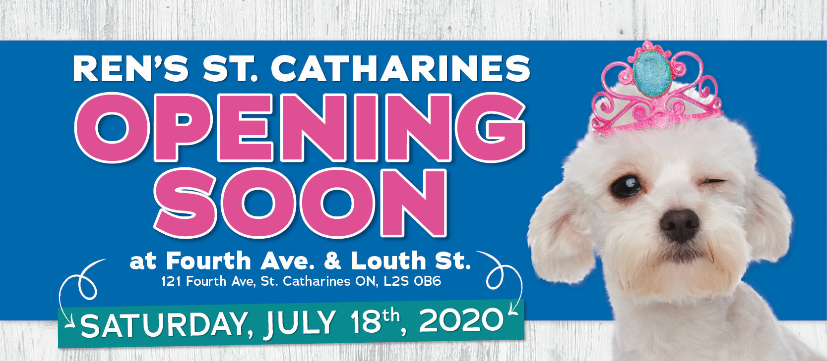 St. Catharines Location Opening July 18!