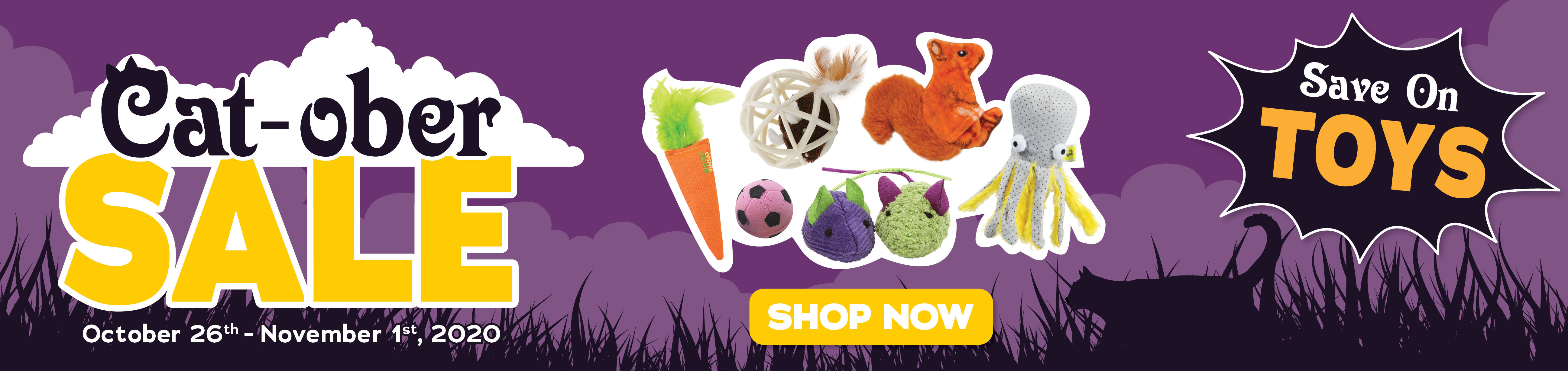 Save on Cat Toys
