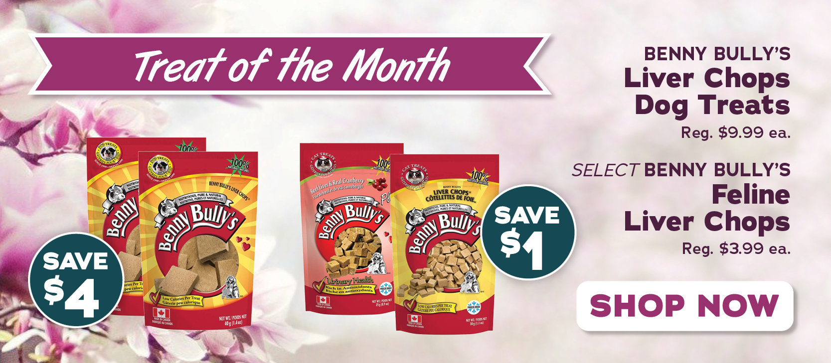 April Treat of the Month