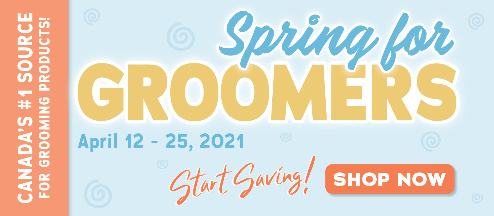 April Grooming Sale On Now