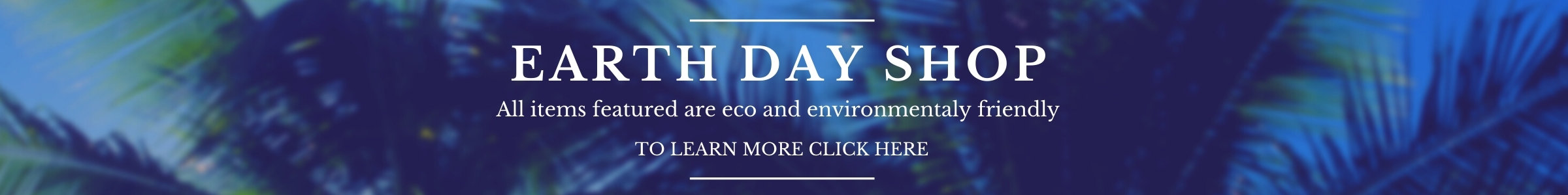 Earth Day Shop