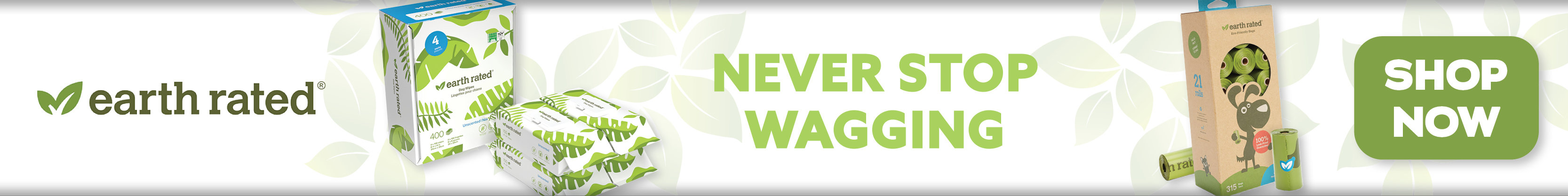 Earth Rated - Never Stop Wagging