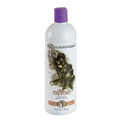 Color Enhancing Conditioner, Red/Brown - 16 oz