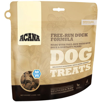Freeze-Dried Dog Treat, Free-Run Duck