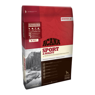 Dog Food, Sport & Agility - 11.4 kg