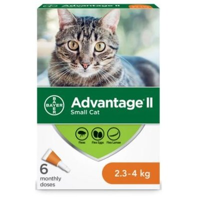 Advantage II, Advantage II - Feline Adult - 2.3-4 kg