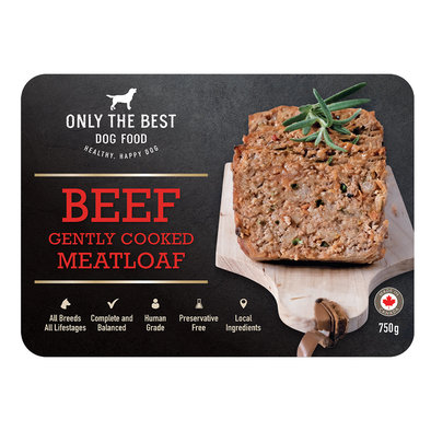Gently Cooked Meatloaf - Beef - 750 g