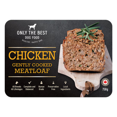 Gently Cooked Meatloaf - Chicken - 750 g