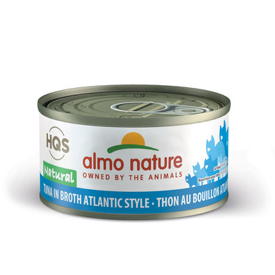 Canned Cat Food, Atlantic Tuna in Broth - 2.5 oz