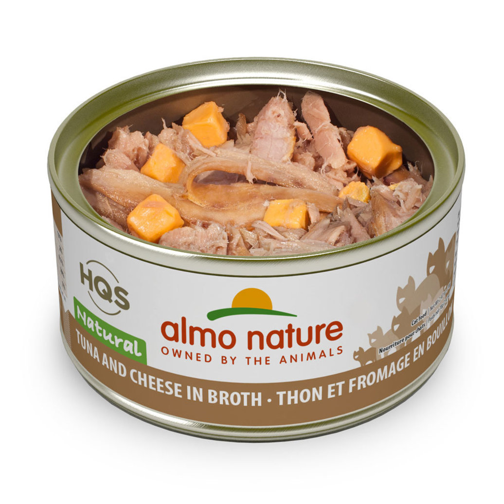 View larger image of Can Feline Adult - Tuna & Cheese in Broth - 2.5 oz