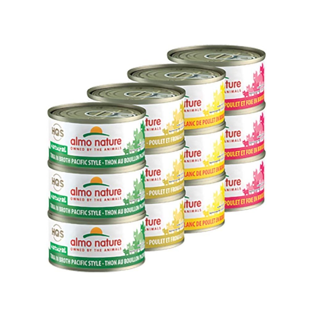 View larger image of Can, Feline - Rotational Pack - Chicken & Tuna  - 70 g - 24 pk
