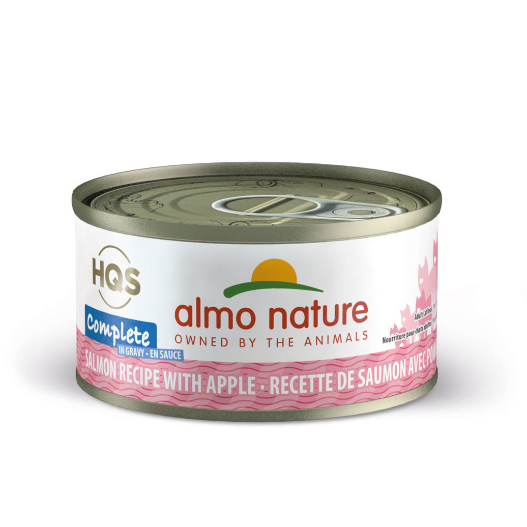 View larger image of Can, Feline - Salmon w/ Apple - 70 g
