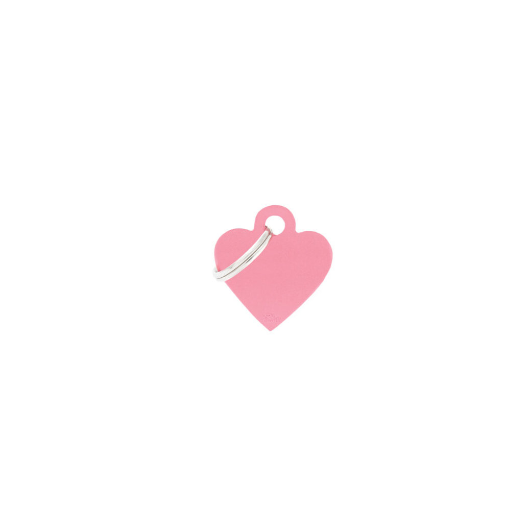View larger image of Aluminum Heart - Pink - Small
