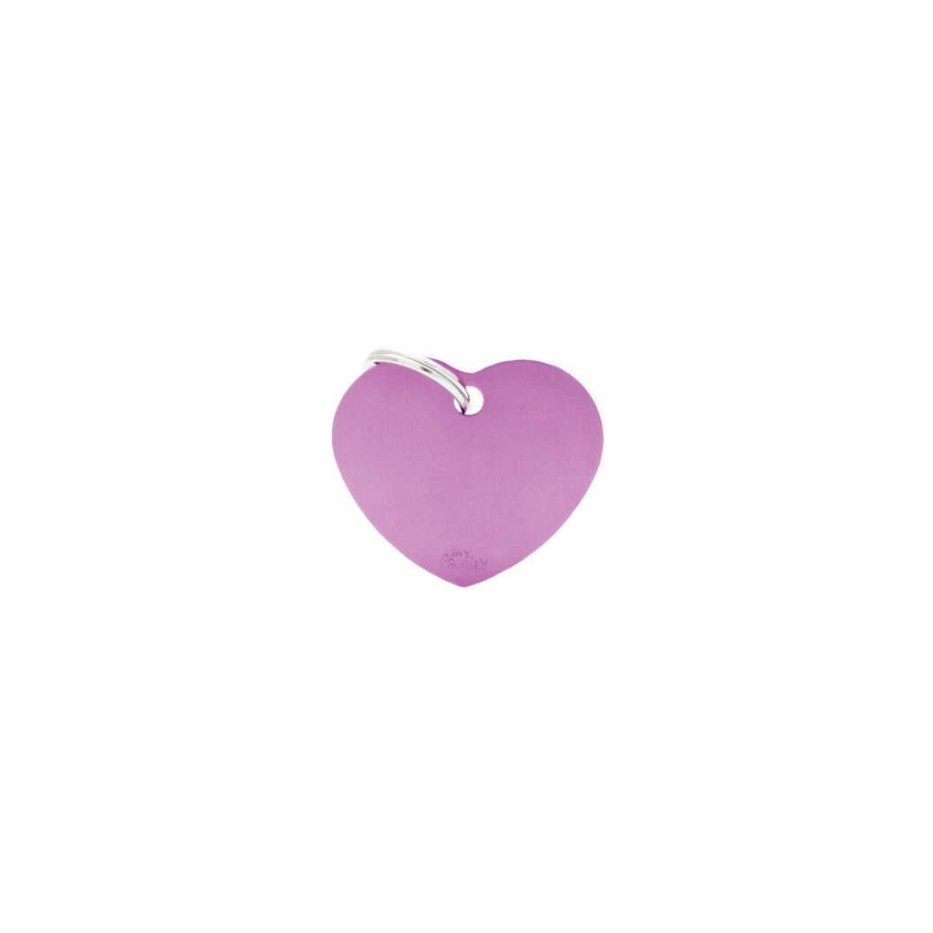 View larger image of Aluminum Heart - Purple - Big