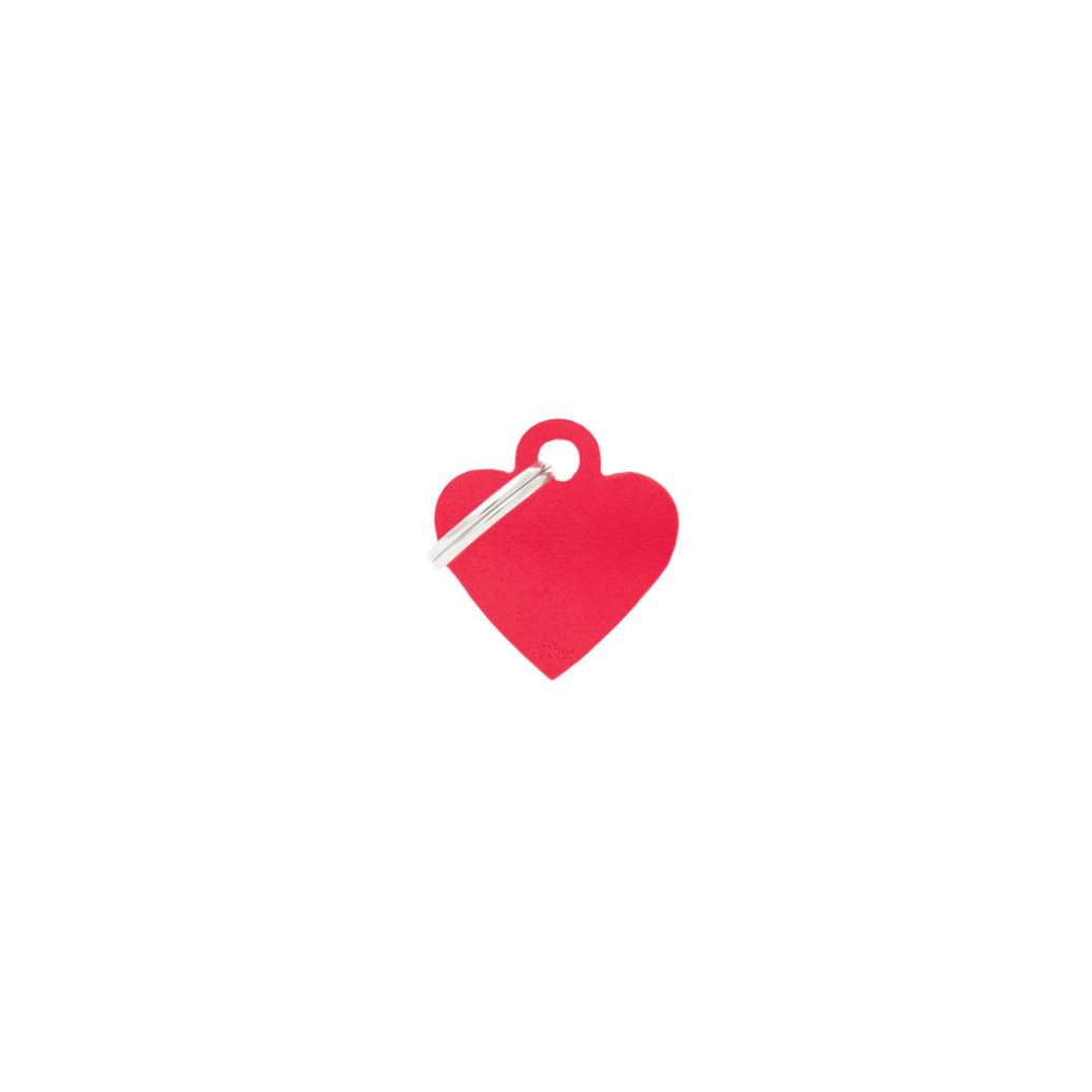 View larger image of Aluminum Heart - Red - Small
