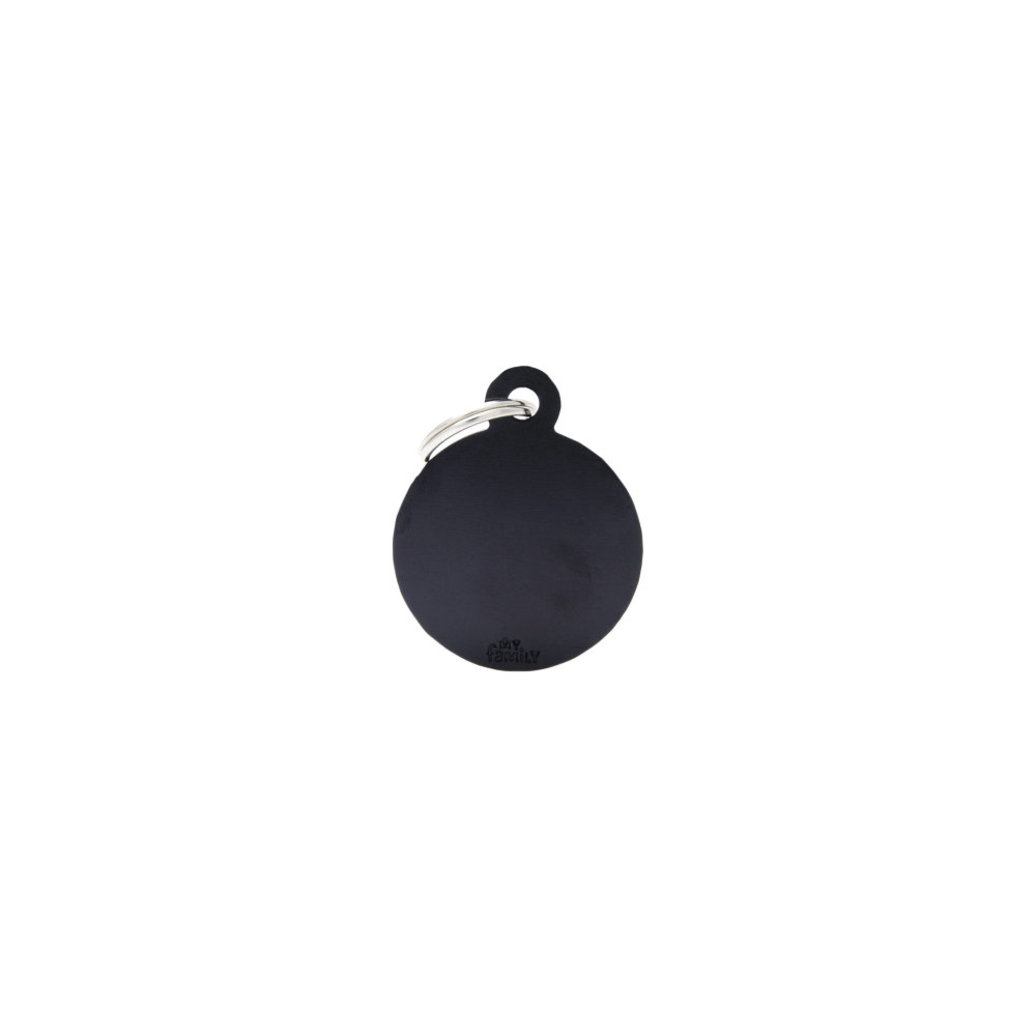 View larger image of Aluminum Round - Black - Big