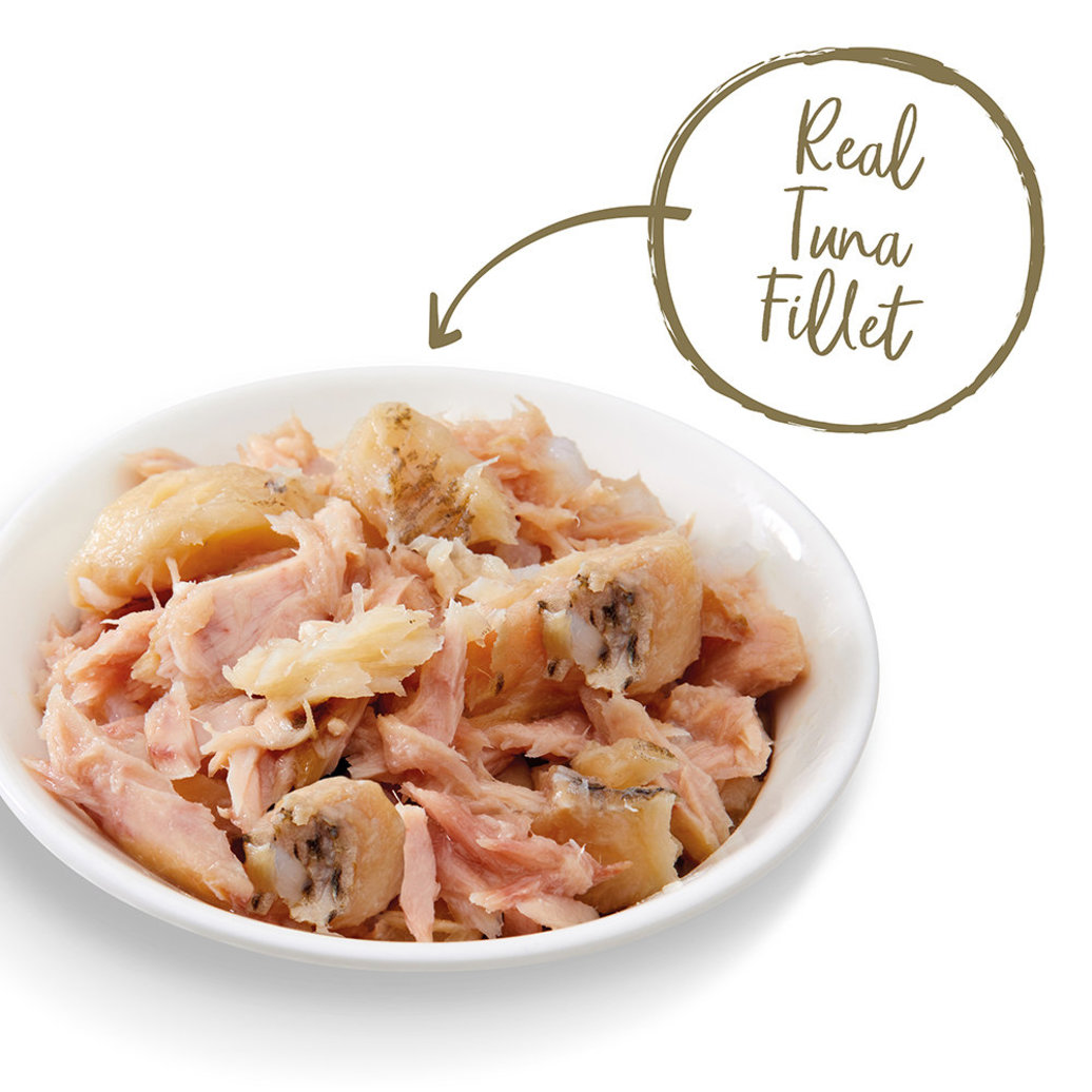 View larger image of Pot, Feline Adult - Grilled Tilapia Flakes w/ Tuna in Gravy - 68 g