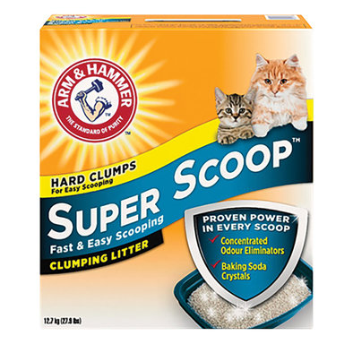 Super Scoop Scented Clumping Litter