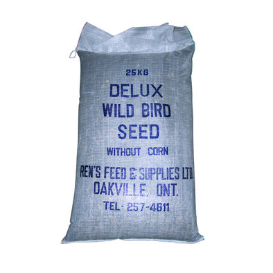 Deluxe Wild Bird Seed, No Corn - 25 kg