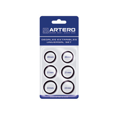 Finger Inserts - Black -  6 Pk