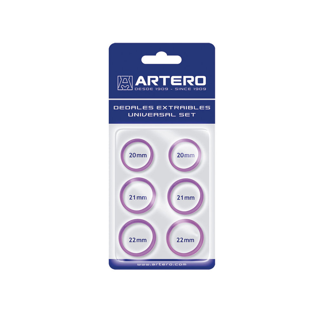 View larger image of Finger Inserts - Purple-  6 Pk
