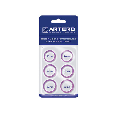Finger Inserts - Purple-  6 Pk