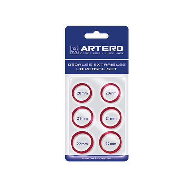 Finger Inserts - Red -  6 Pk