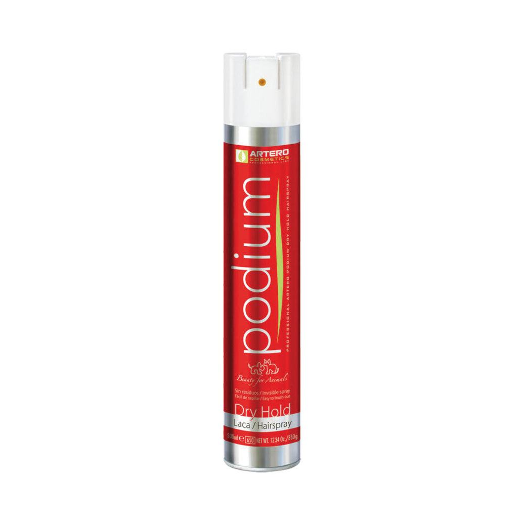 View larger image of Podium Dry Hold Hairspray - 500 ml
