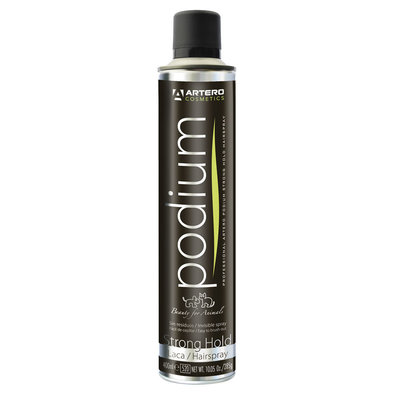 Podium Wet Strong Hold Hairspray - 400 ml