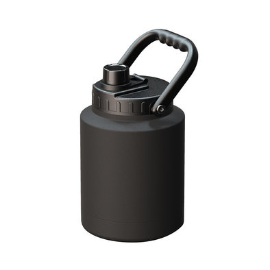 Mighty Jug with Dog Bowl - Black
