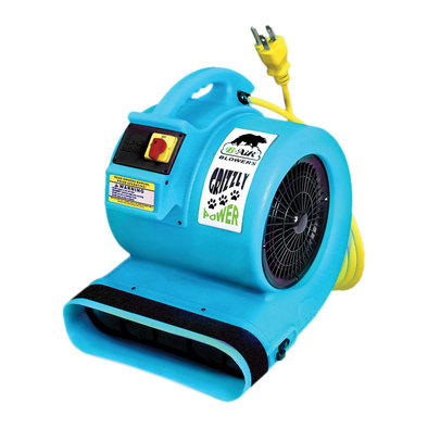 Grizzly 1 HP Cage Dryer - Turquoise