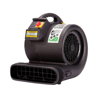 Grizzly 1HP (115v) 3 Speed Dryer - Black