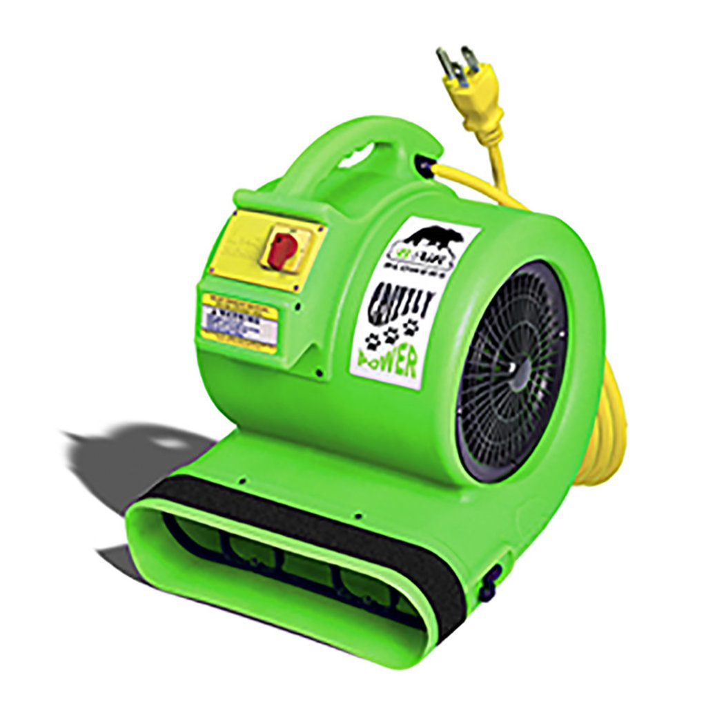View larger image of Grizzly 1HP Cage Dryer - Green