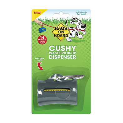 Cushy Dispenser - Gray - 14 Bags