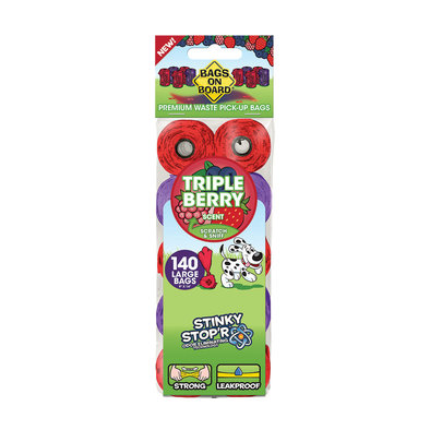 Triple Berry Scented Refill Pack - 140 Bags