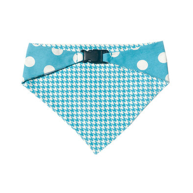 Bandana Reversible - Blue & White