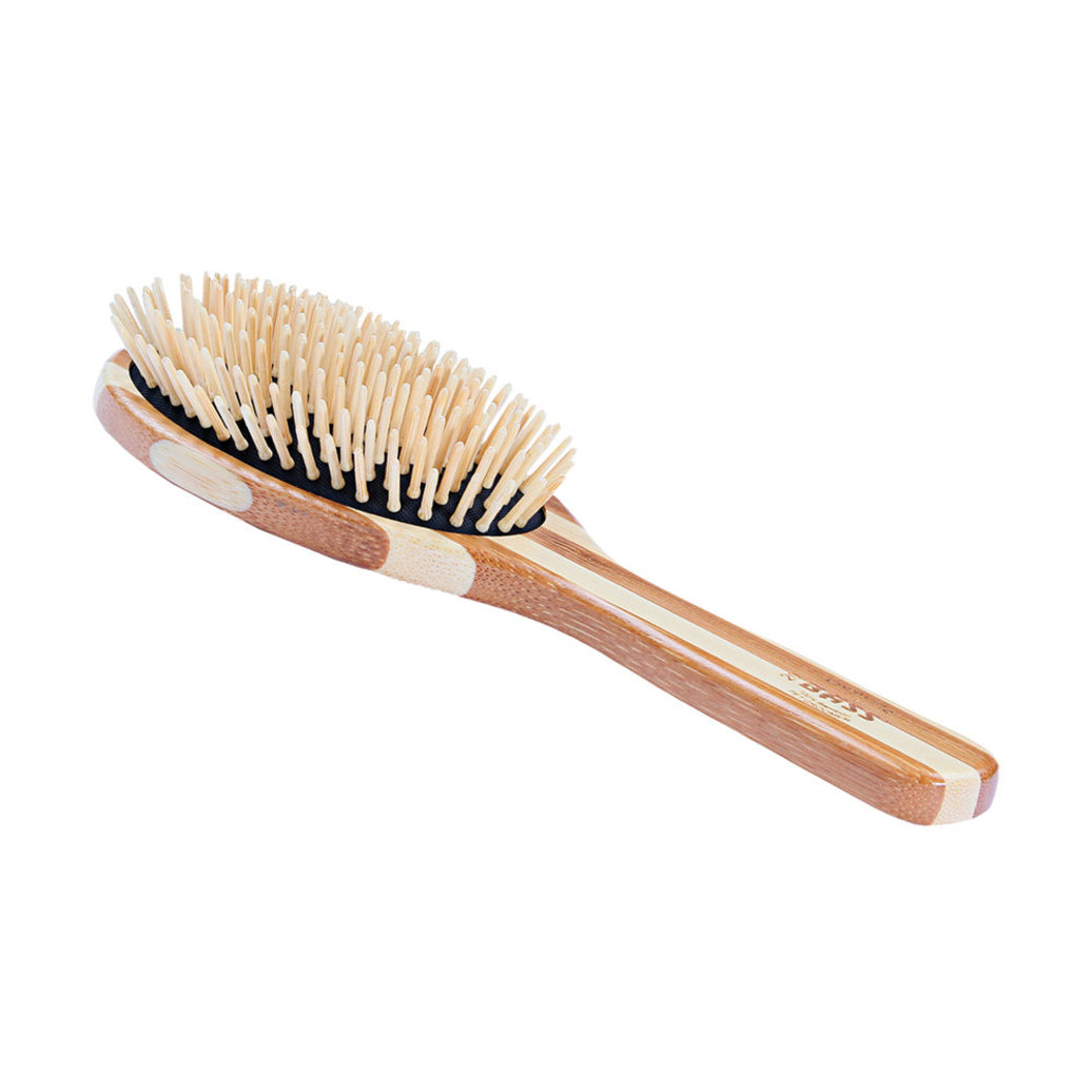 View larger image of Bamboo Pin Grooming Brush -  Large