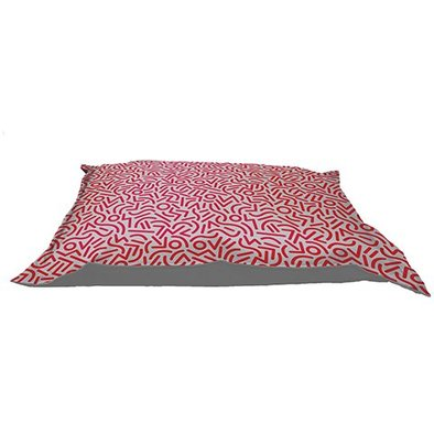 Cloud Pillow - Red Confettis - Large