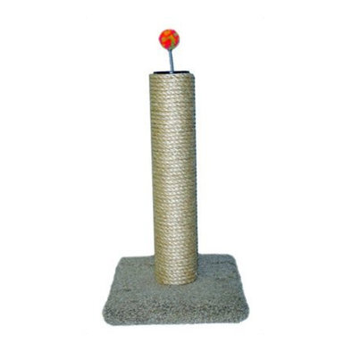 Sisal & Carpet Post - 24""