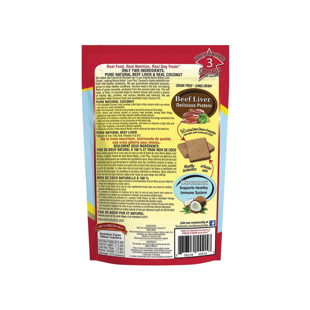 View larger image of Liver Plus Coconut - 58 g