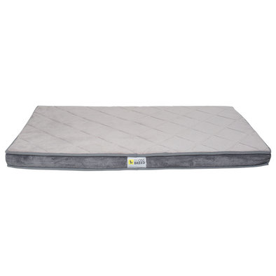 Diamond Bed - Gray