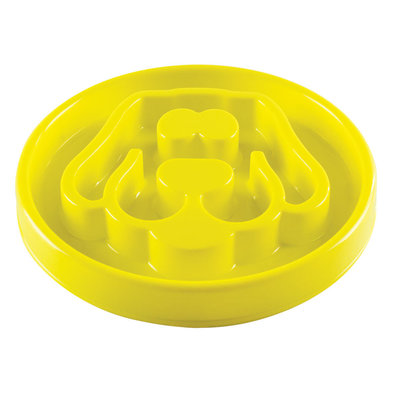 Dog, Slow Feeder - Yellow