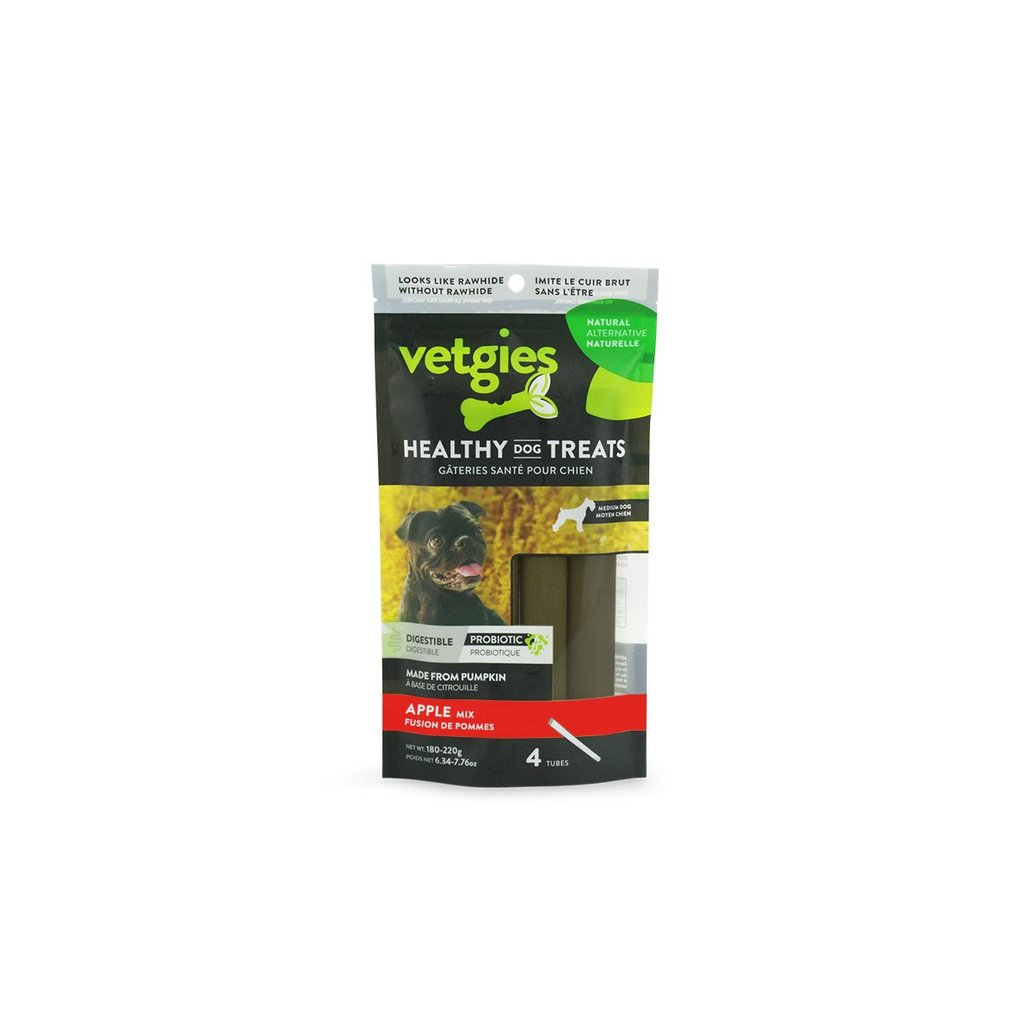 View larger image of BeOneBreed, Vetgies Filled Tube - Apple - 1 pc