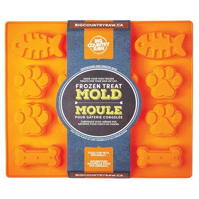 Frozen Treat Mold - Fish, Paw & Bone